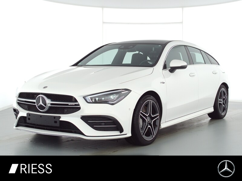 Mercedes-Benz CLA 35 AMG 4M SB Multi Pano Ambi Aug MBUX High, Jahr 2020, Benzin