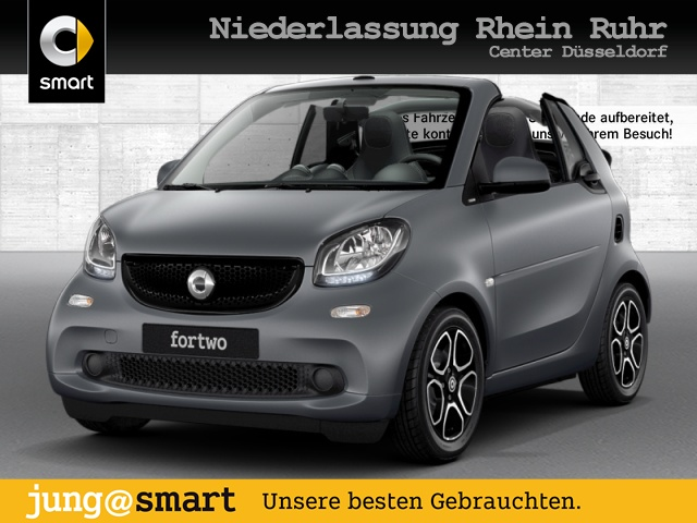 smart fortwo cabrio 66kW passion DCT cool&Media SHZ, Jahr 2017, Benzin