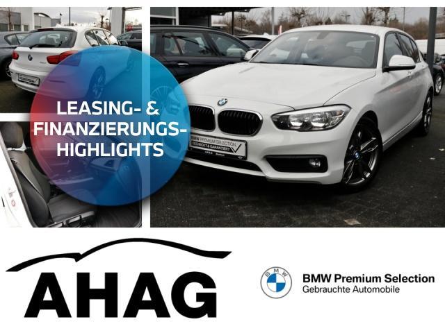 BMW 116d EfficientDynamics Edition Advantage PDC NSW, Jahr 2017, Diesel