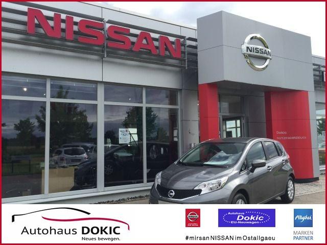 Nissan Note 1.2i Acenta 80PS, BT, Isofix, Tempomat, AC, Jahr 2015, Benzin