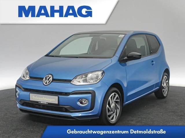 Volkswagen up! SOUND 1.0 TSI maps&moreDock RoofPack 15Zoll 5-Gang, Jahr 2018, Benzin
