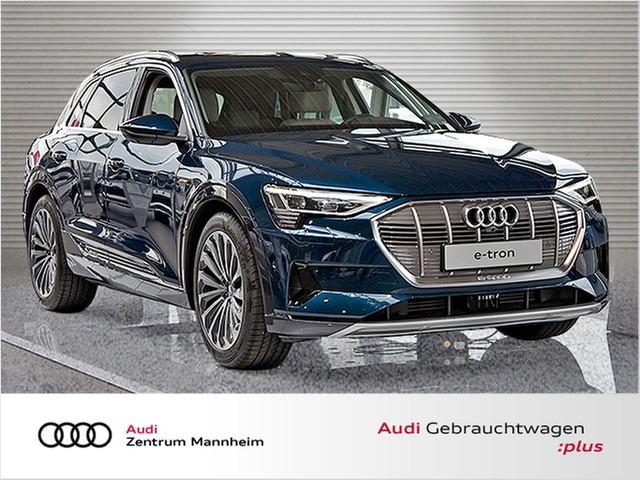 Audi e-tron 55 quattro NP: 108.980.-- LED Navi PanoDach Leder GRA LM SD PDC, Jahr 2019, electric