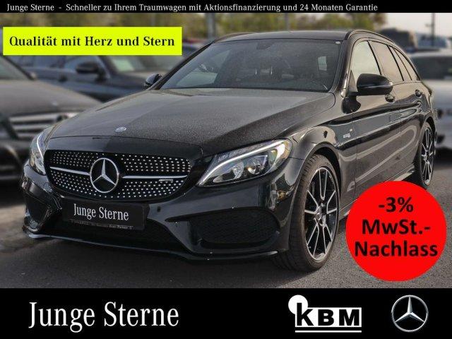 "Mercedes-Benz C 43 AMG 4M T NAVI°NIGHT°PARK°SHZ°ALU-19""°LED°, Jahr 2016, petrol"
