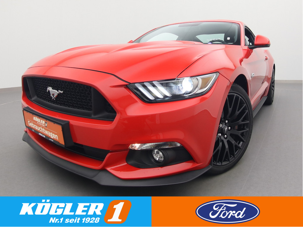 Ford Mustang GT Coupe 5.0 V8 421PS/Premium-P. II, Jahr 2017, Benzin