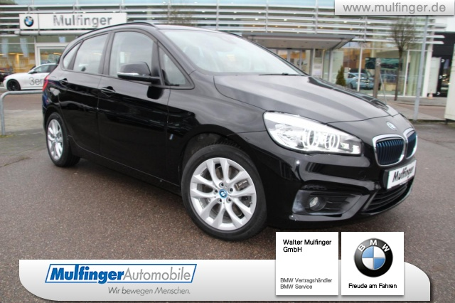 BMW 225xe iPerformance Active Tourer Advantage HUD LED, Jahr 2016, petrol