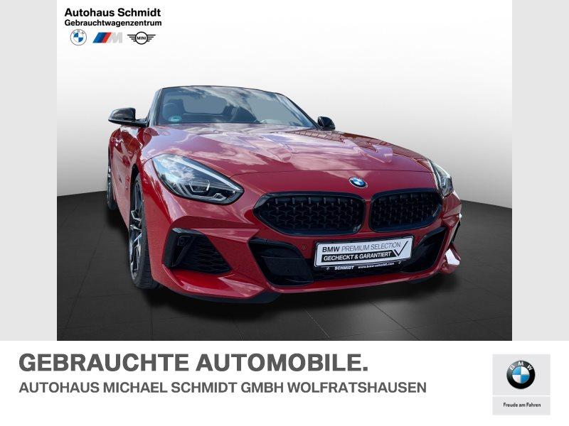 BMW Z4 M40i 19 Zoll*M Fahrwerk*Memory*Head Up*Harman Kardon*, Jahr 2021, Benzin