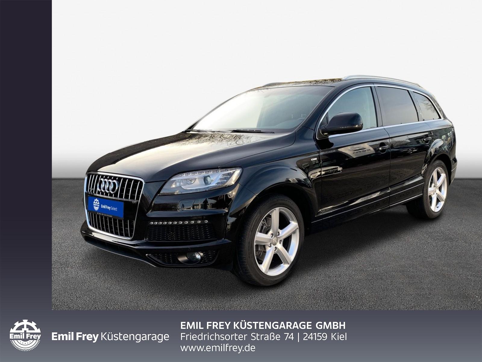 """Audi Q7 3.0 TDI DPF quattro tiptronic """"7 Sitzer,Leder,Standhzg.,Bose,Panoramdach,, Jahr 2013, diesel"""