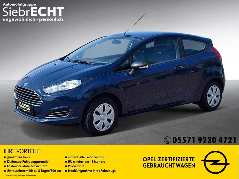 Ford Fiesta 1.25 Ambiente*Klima*Radio*, Jahr 2015, Benzin