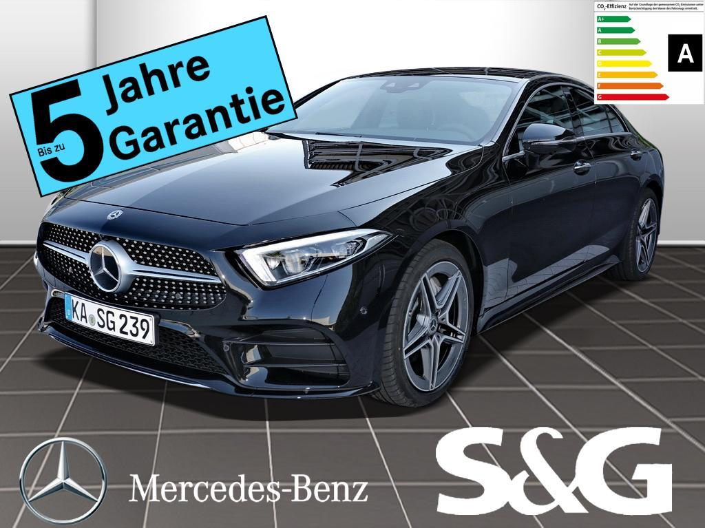 Mercedes-Benz CLS 300 d AMG-Line COMAND/LED/360°K/Surround/LMR, Jahr 2019, Diesel