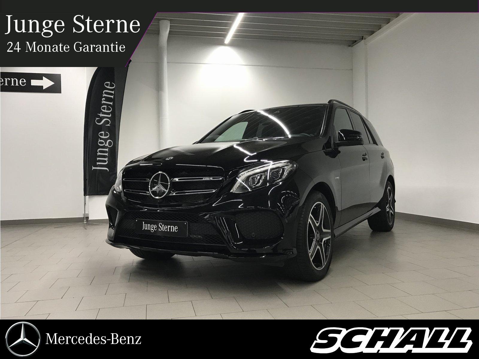 Mercedes-Benz GLE 43 AMG/AHK/NIGHT/AIR/KEY/360°/DIST/LED/EU6, Jahr 2017, petrol