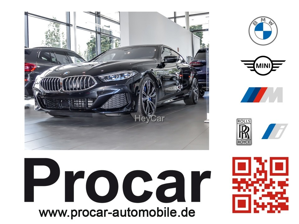 BMW 840d xDrive Gran Coupe M-Sport Pano-Dach H/K DAB, Jahr 2020, Diesel