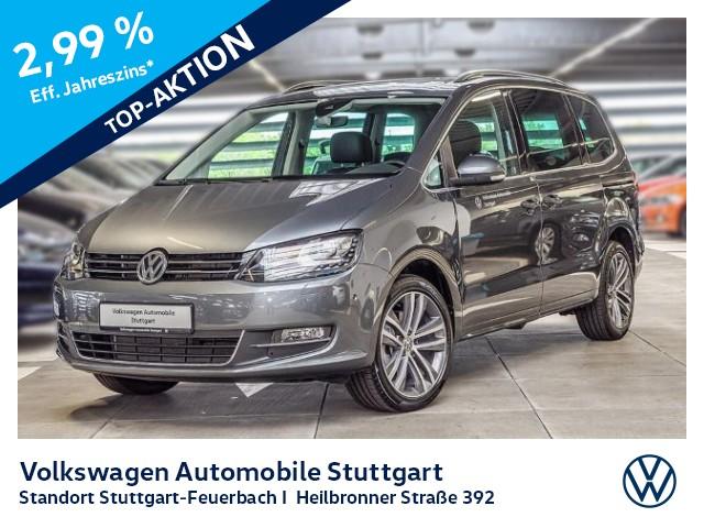 Volkswagen Sharan 2.0 TDI Highline DSG Navi AHK Standheizung, Jahr 2020, Diesel