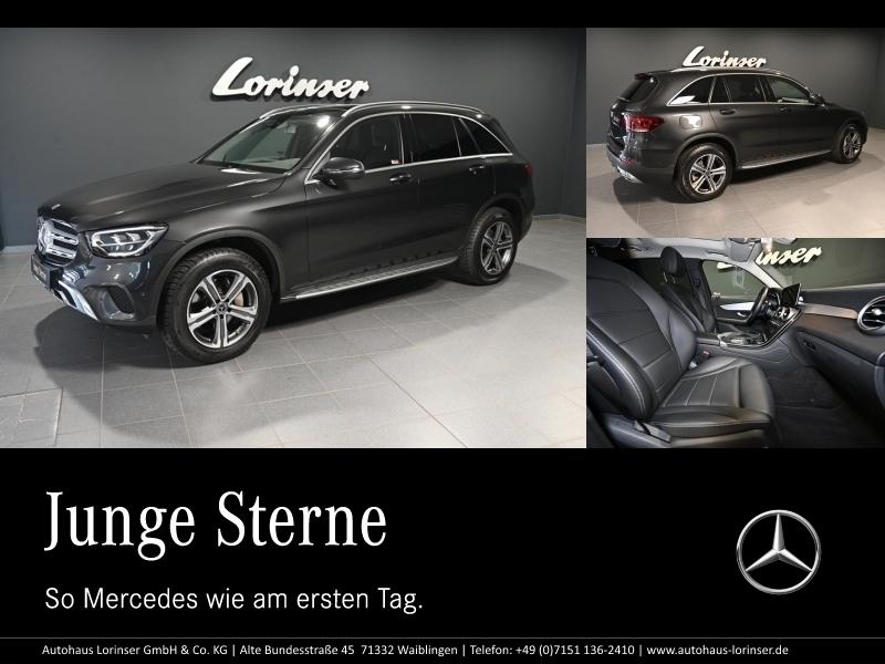 Mercedes-Benz GLC 200 4M EXCLUSIVE/NAVI/LED/MBUX/PTS/RFK/PANO, Jahr 2019, Benzin