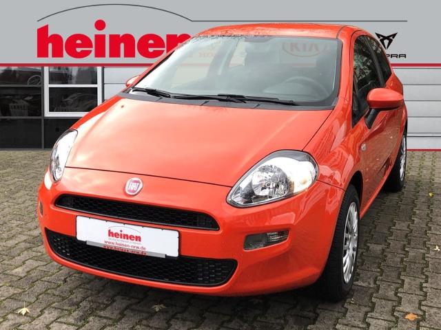 Fiat Punto Pop 1.2 1.Hd. wenig km Klima Scheckheft ZV, Jahr 2014, petrol
