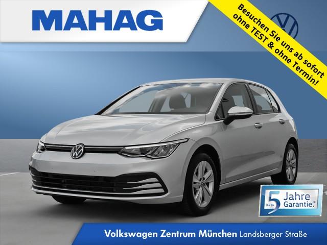 Volkswagen Golf VIII 1.5 TSI LIFE NaviPro LED DigitalCockpit AppConnect DAB+ Sitzhz. ParkPilot FrontAssist 16Zoll 6-Gang, Jahr 2020, Benzin