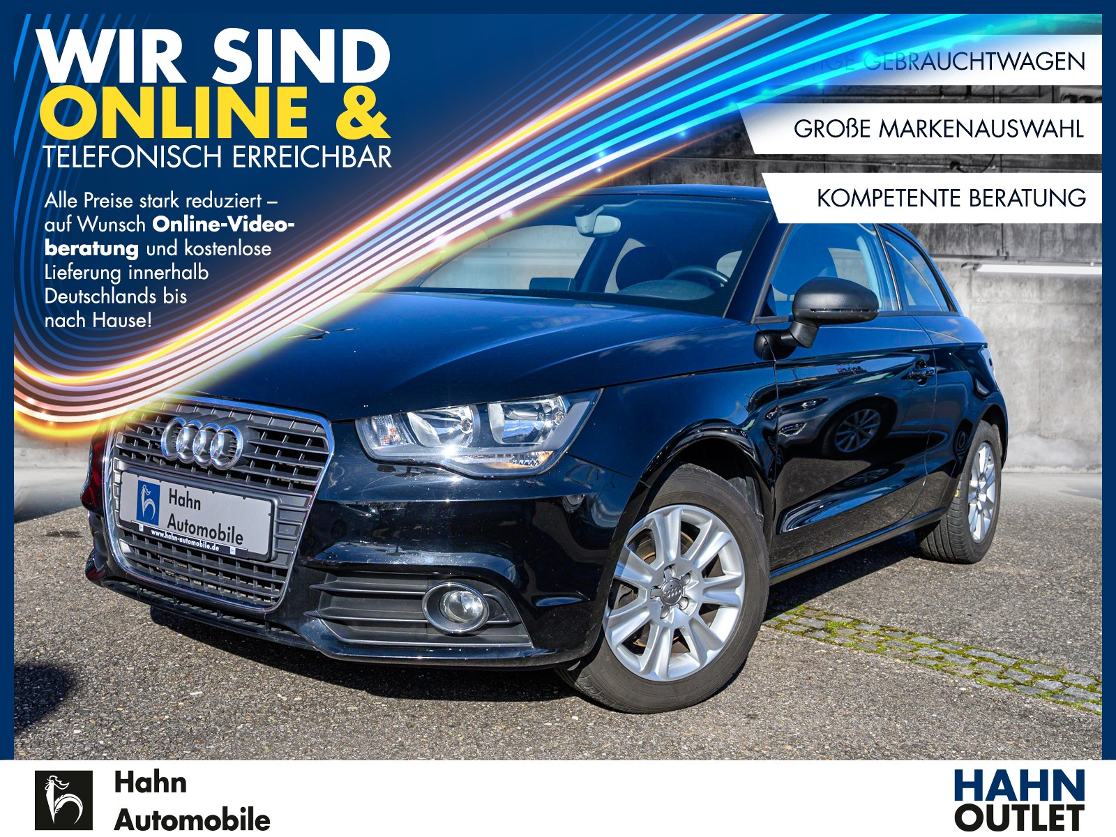 Audi A1 Attraction 1.4TFSI Sitzh. Klimatr. Einpark., Jahr 2012, Benzin