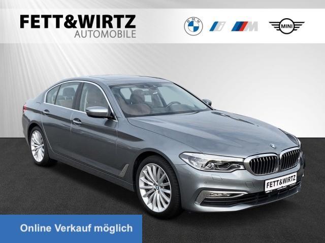 BMW 540i xDrive Luxury HUD LED ACC GSD RFK 19''LM AHK, Jahr 2017, Benzin