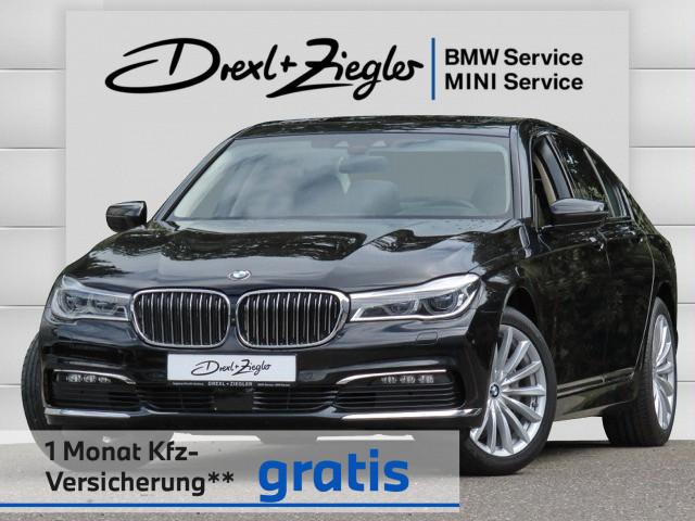 BMW 740d xDrive Laser HuD DriveA.Plus HiFi Glasdach, Jahr 2017, Diesel
