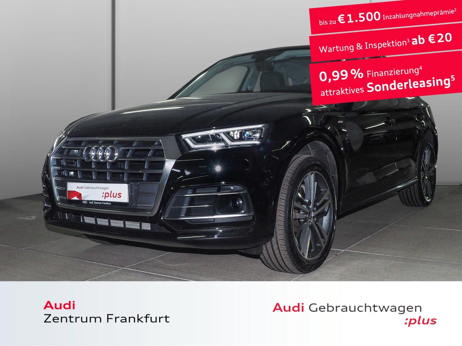 Audi Q5 45 TFSI quattro S tronic S line LED Navi DAB, Jahr 2019, Benzin