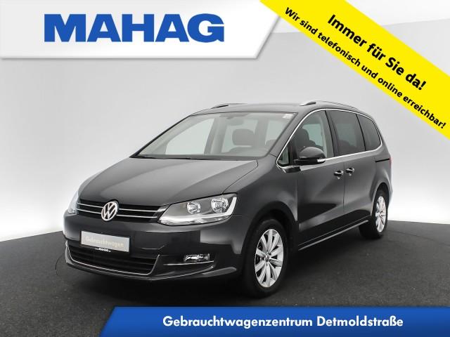 Volkswagen Sharan 1.4 TSI Highline Navi Sitzhz. ParkPilot FrontAssist 17Zoll 6-Gang, Jahr 2018, Benzin