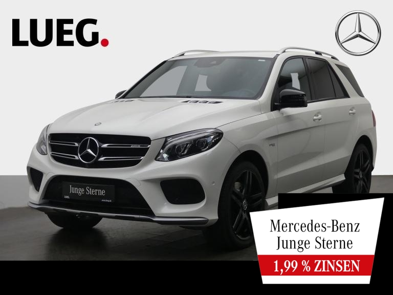Mercedes-Benz GLE 43 AMG 4M COM+LED-ILS+21+Mem+Airm+Sitzkl+360, Jahr 2016, Benzin