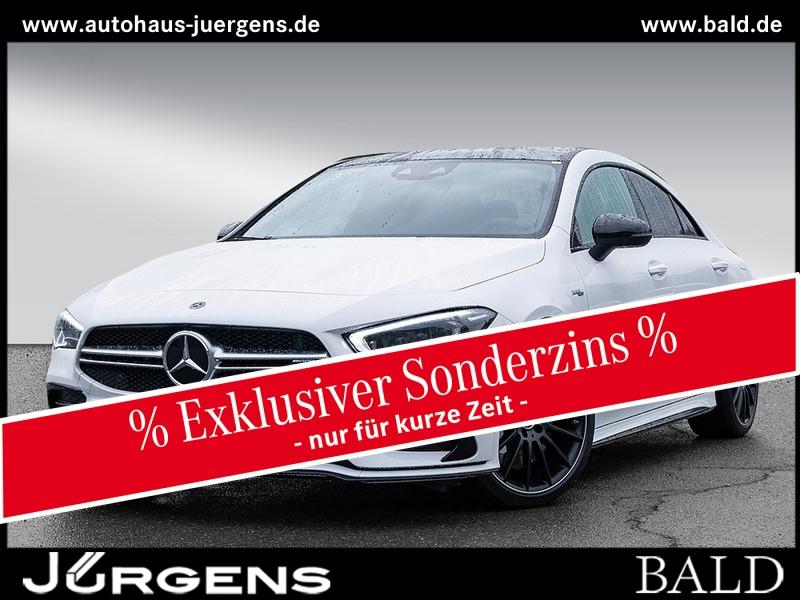 Mercedes-Benz CLA 35 AMG 4M Coupé Perf-Sitze/Aero/Pano/Burm/19, Jahr 2019, Benzin