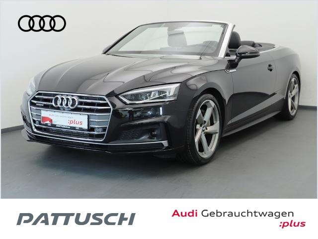 Audi A5 Cabriolet 2.0 TFSI Q S line Tiptronic Navi LE, Jahr 2018, Benzin