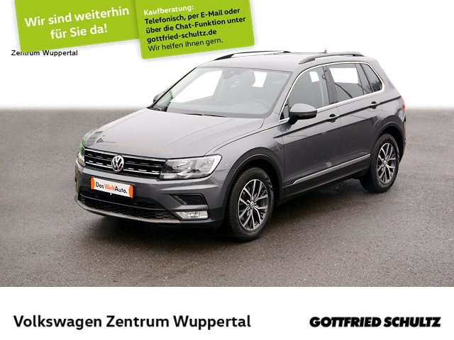 Volkswagen Tiguan 2,0 TDI Comfortline NAVI AHK SHZ PDC LM, Jahr 2017, Diesel