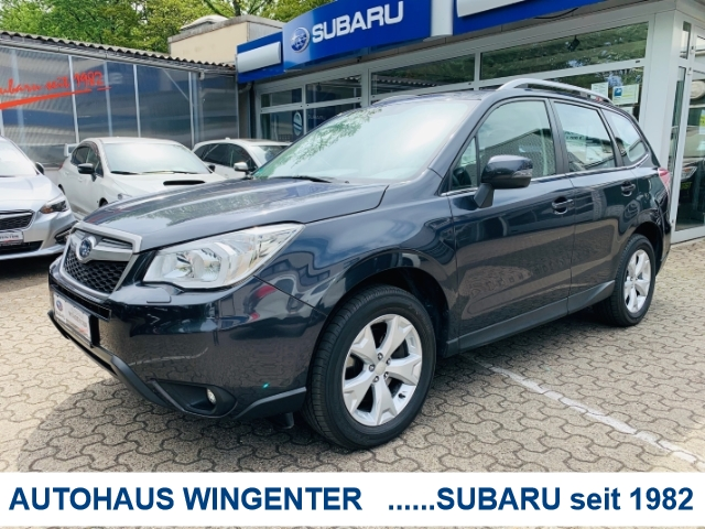 Subaru Forester Exclusive 2.0 D*Lineatronic*AHK abnehmbar*1Hand, Jahr 2015, Diesel