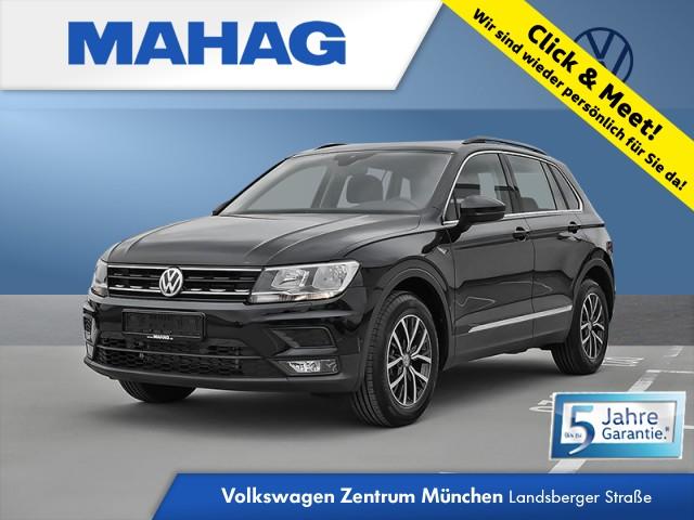 """Volkswagen Tiguan Comfortline 1.5 TSI 6-Gang - Rückfahrkamera """"Rear View"""" inkl. Parklenkassistent """"Park Assist"""" und Einparkhilfe - Spurhalteassistent - Klimaanlage - Anhängevorrichtung mechanisch schwenkbarund elektrisch auslösbar Tiguan 1.5actCLOPFFR 96 TSIM6F, Jahr 2020, petrol"""