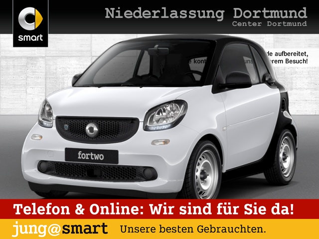 smart fortwo coupé 60kWed cool&Audio PDC Tempom Klima, Jahr 2018, Elektro
