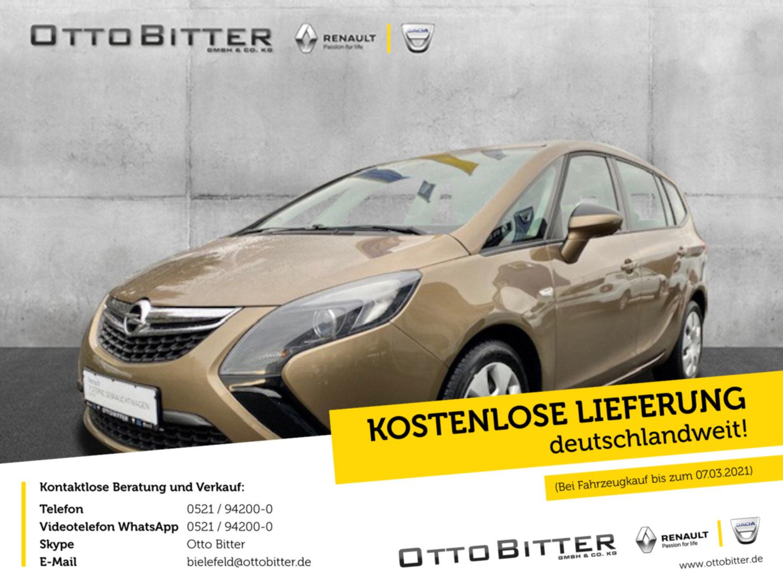 Opel Zafira Tourer Selection 1.4 ANHÄNGERKUPPLUNG, Jahr 2014, Benzin