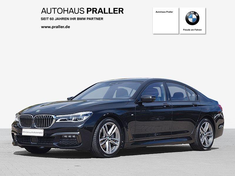 BMW 740d xDrive Limousine M Sportpaket Head-Up DAB, Jahr 2018, Diesel