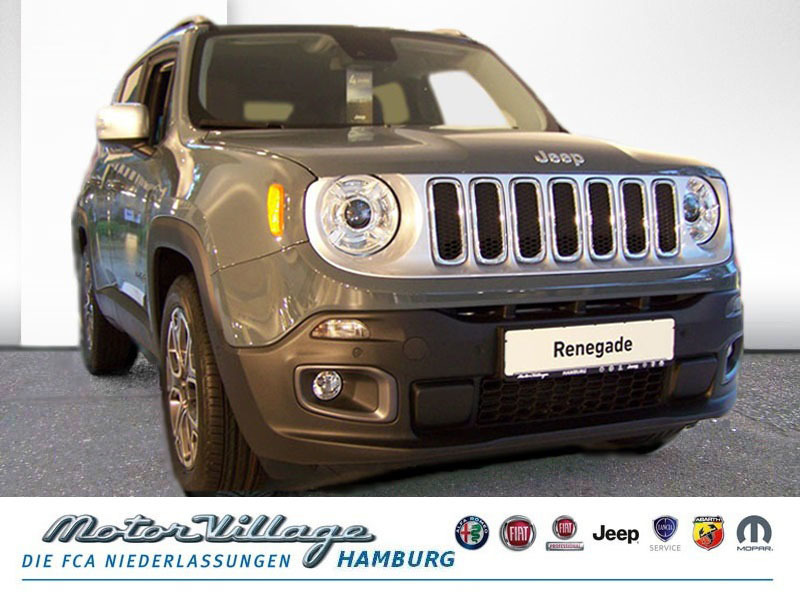 Jeep Renegade Limited 1.6 MultiJet 2WD 120PS Bi Xenon, Jahr 2015, Diesel