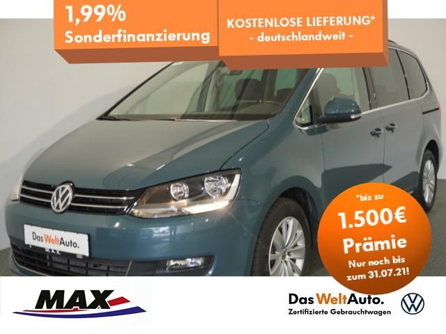 Volkswagen Sharan 2.0 TDI COMFORTLINE 5JGAR+7-SITZE+NAV+ALU, Jahr 2020, Diesel