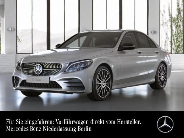 "Mercedes-Benz C 180 AMG+Night+LED+Kamera+19""+Spur+Totw+Keyless, Jahr 2021, petrol"