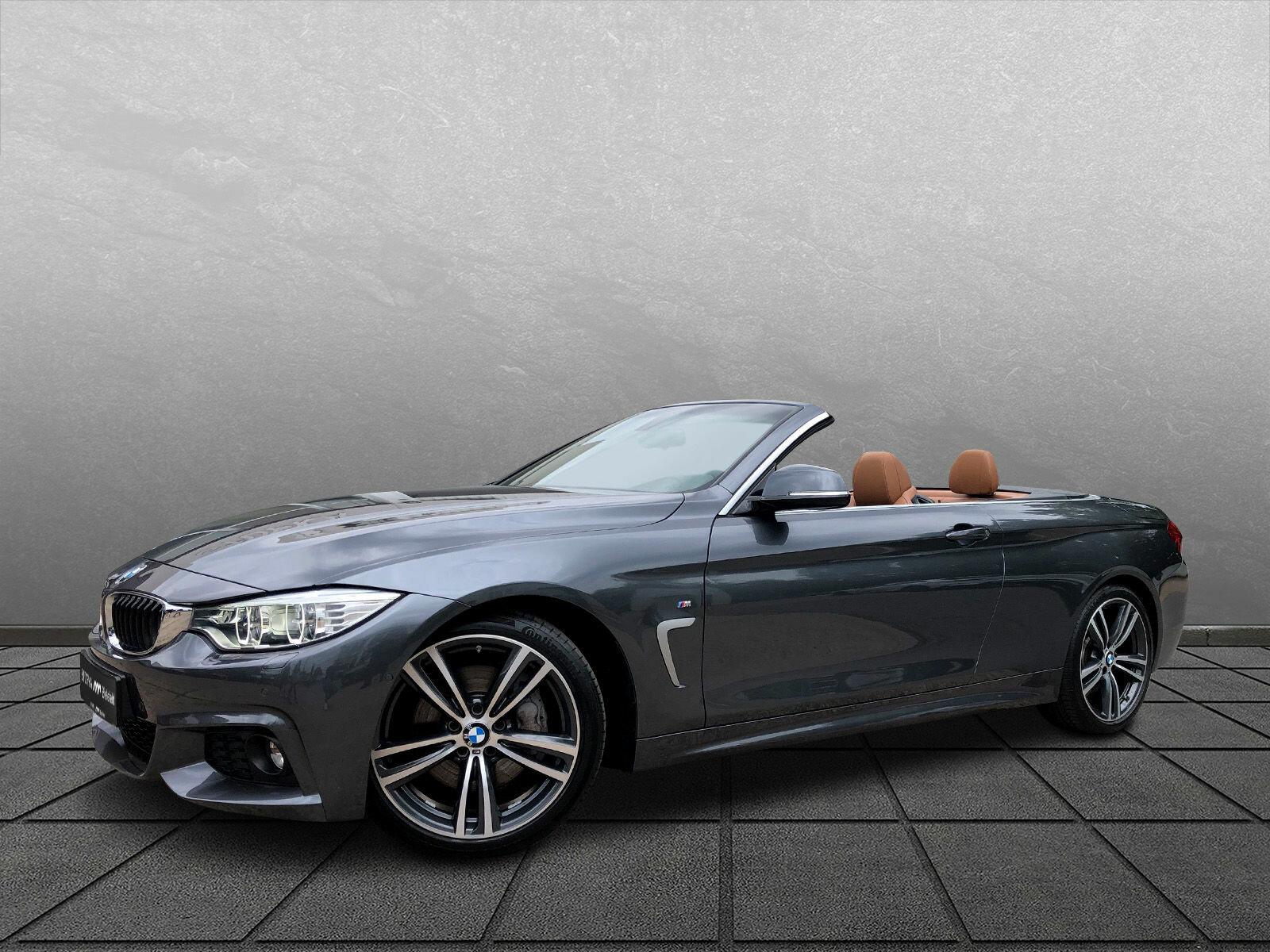 BMW 440i Cabriolet M Sport*19Zoll*Memory*Navi*SHZ*, Jahr 2016, Benzin