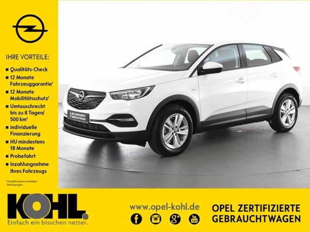 Opel Grandland X 1.2 Ed. Klima Sitzh. ALU Bluet. PDC, Jahr 2017, petrol