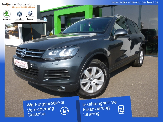 Volkswagen Touareg 3.0 V6 TDI DSG 4Motion NAVI LUFTFAHRWERK, Jahr 2014, Diesel