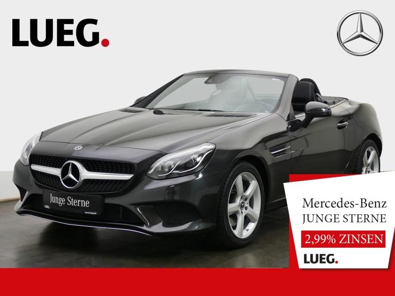 Mercedes-Benz SLC 300 COMAND+Pano+LED-ILS+Memory+CarPl+SHZ+PTS, Jahr 2019, Benzin