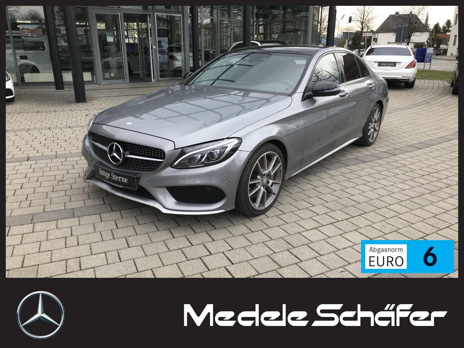 Mercedes-Benz C 450 / C43 AMG 4M LED-ILS HeadUp PanoSD Nav Kam, Jahr 2016, Benzin