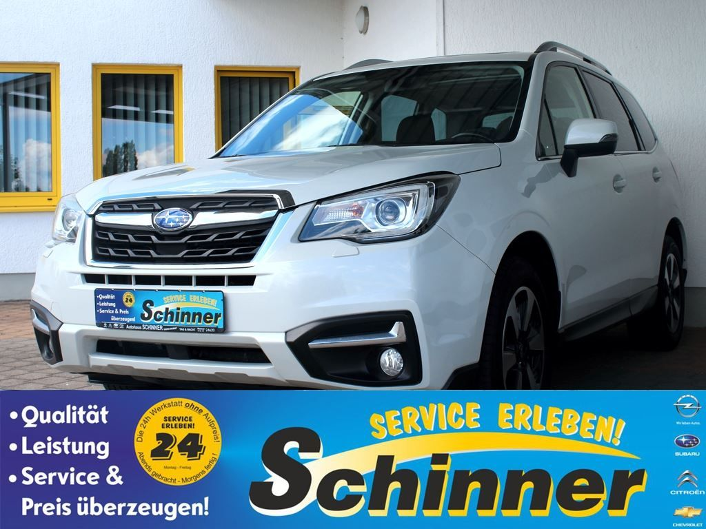 Subaru Forester 2.0D Lineartronic Exclusive, Jahr 2016, Diesel