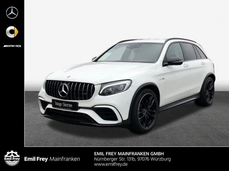 Mercedes-Benz GLC 63 AMG S 4M+/Night/21''/HiFi/COMAND/PerfAbGas, Jahr 2018, Benzin