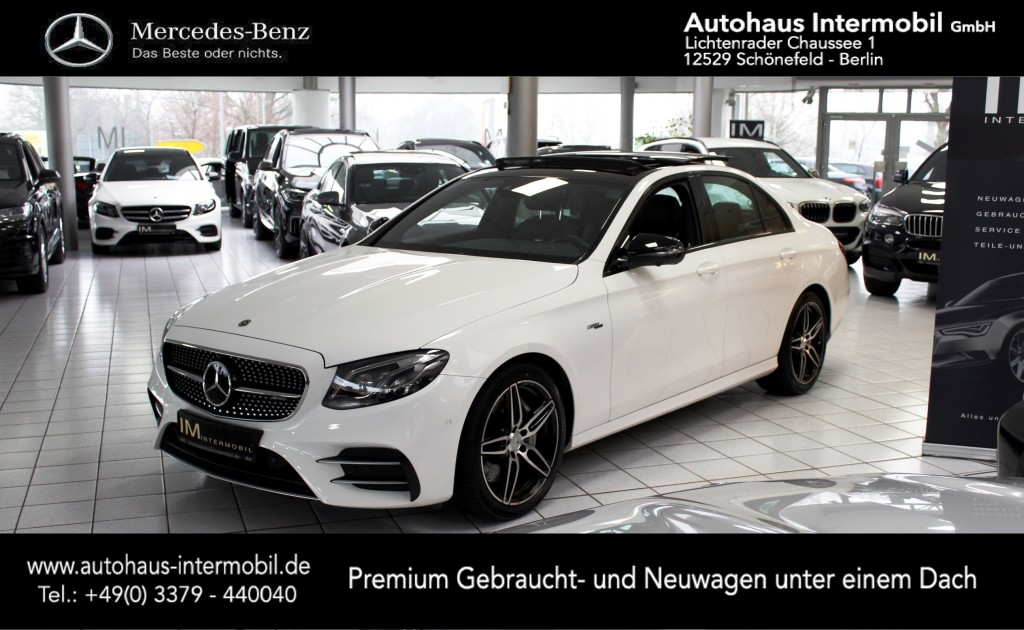 Mercedes-Benz E 53 AMG 4Matic+ 9G-Tronic *Multibeam*Pano*360°, Jahr 2019, Benzin
