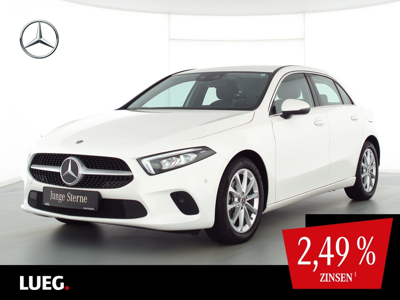 Mercedes-Benz A 180 d Progressive+MBUXHighEd+LED-HP+ParkAssist, Jahr 2020, Diesel