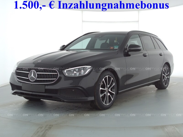 Mercedes-Benz E 220 T d Avantgarde Night+Navi+AHK+Kamera+LED+MBUX, Jahr 2020, Diesel