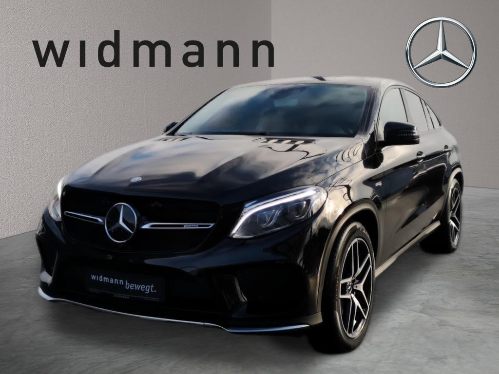 Mercedes-Benz GLE 43 AMG 4MATIC Coupé Comand*Fahrassist.*360°, Jahr 2017, Benzin