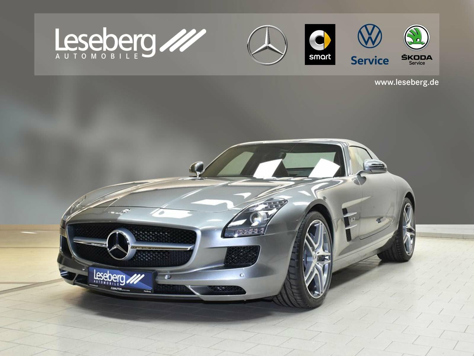 Mercedes-Benz SLS AMG Coupé Kamera/Memory/COMAND/Xenon/7G DCT, Jahr 2014, Benzin