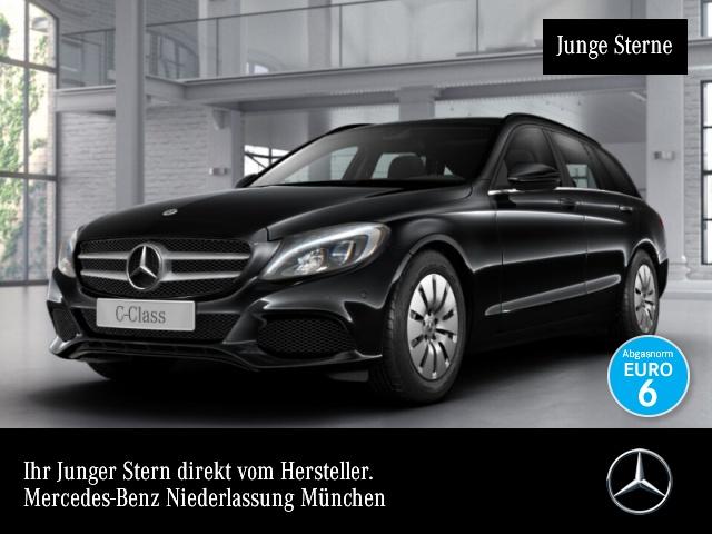 Mercedes-Benz C 220 d T LED AHK Navi PTS Sitzh Sitzkomfort, Jahr 2017, Diesel