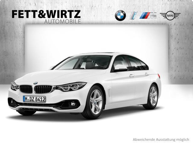 BMW 440i xDrive Gran Coupe Sportline SAG DA HUD GSD, Jahr 2019, petrol